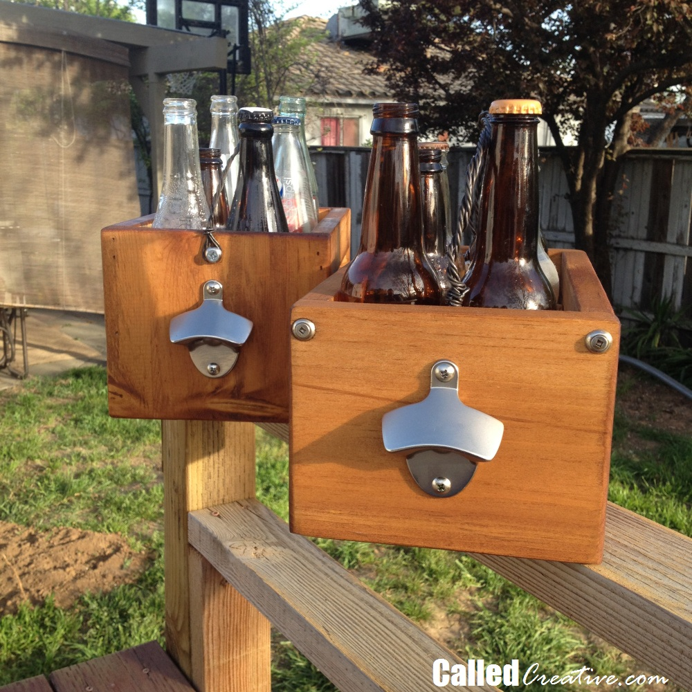 Creating A Soda Crate / Beer Caddy